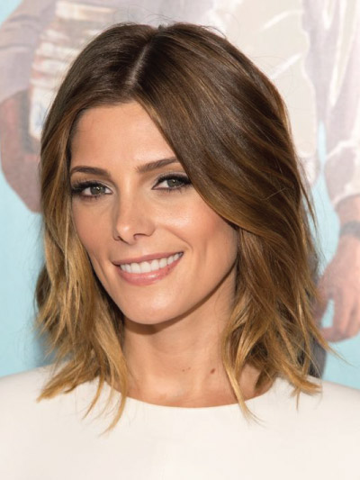 Ashley Greene with a Long Bob
