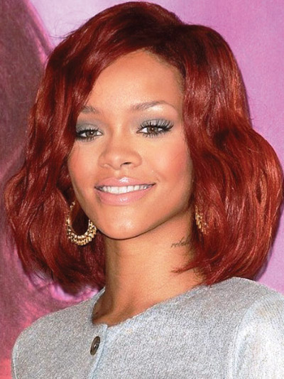 Rihanna with a Long Bob