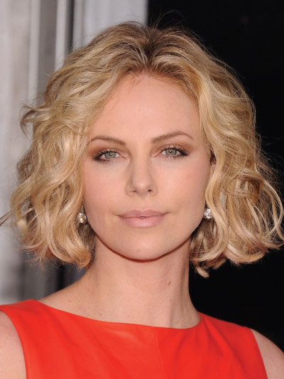 Charlize Theron with a Medium bob