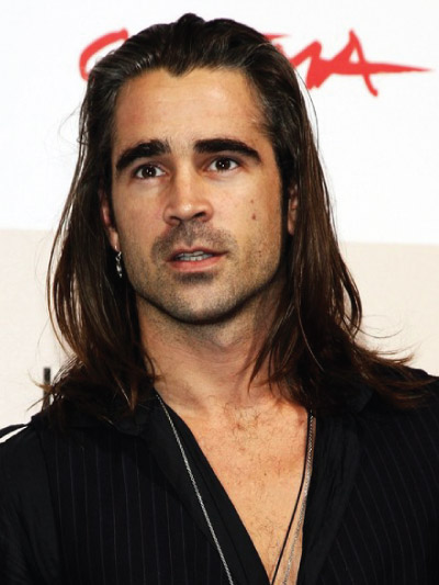 Colin Farrell with Long Hair