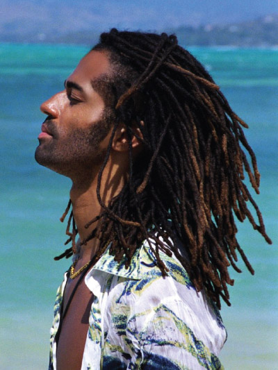 Eric Benet with Long Hair