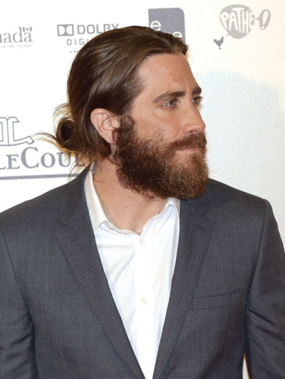 Jake Gyllenhaal with Long Hair