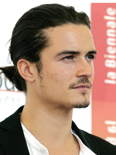 Orlando Bloom with Long Hair