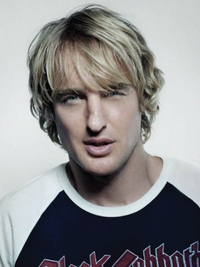 Owen Wilson with Long Hair