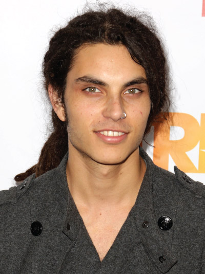 Samuel Larsen with Long Hair