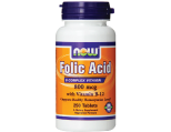 NOW Foods Folic Acid, 800mg Tablets