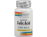 Solaray Folic Acid 1000mg Lozenges