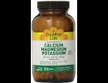Country Life Target Mins Calcium Magnesium Potassium 500 mg, Tablet