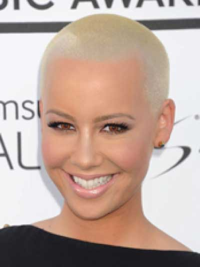 Amber Rose with a Buzz