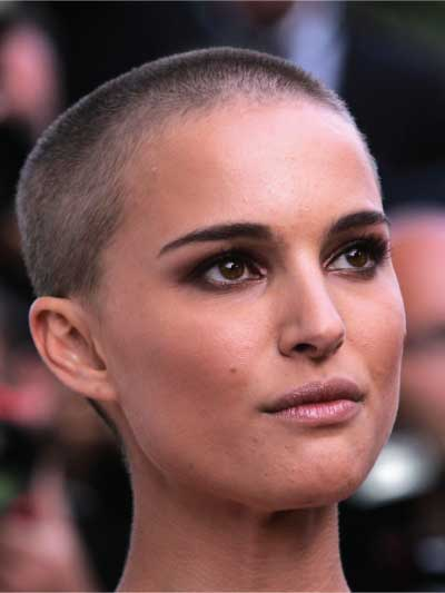 Natalie Portman with a Buzz