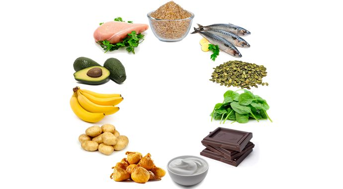 What are sources of magnesium